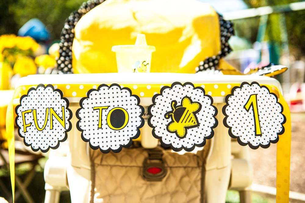 Bumble Bees Birthday Party Ideas   Photo 1 of 19   Catch My Party