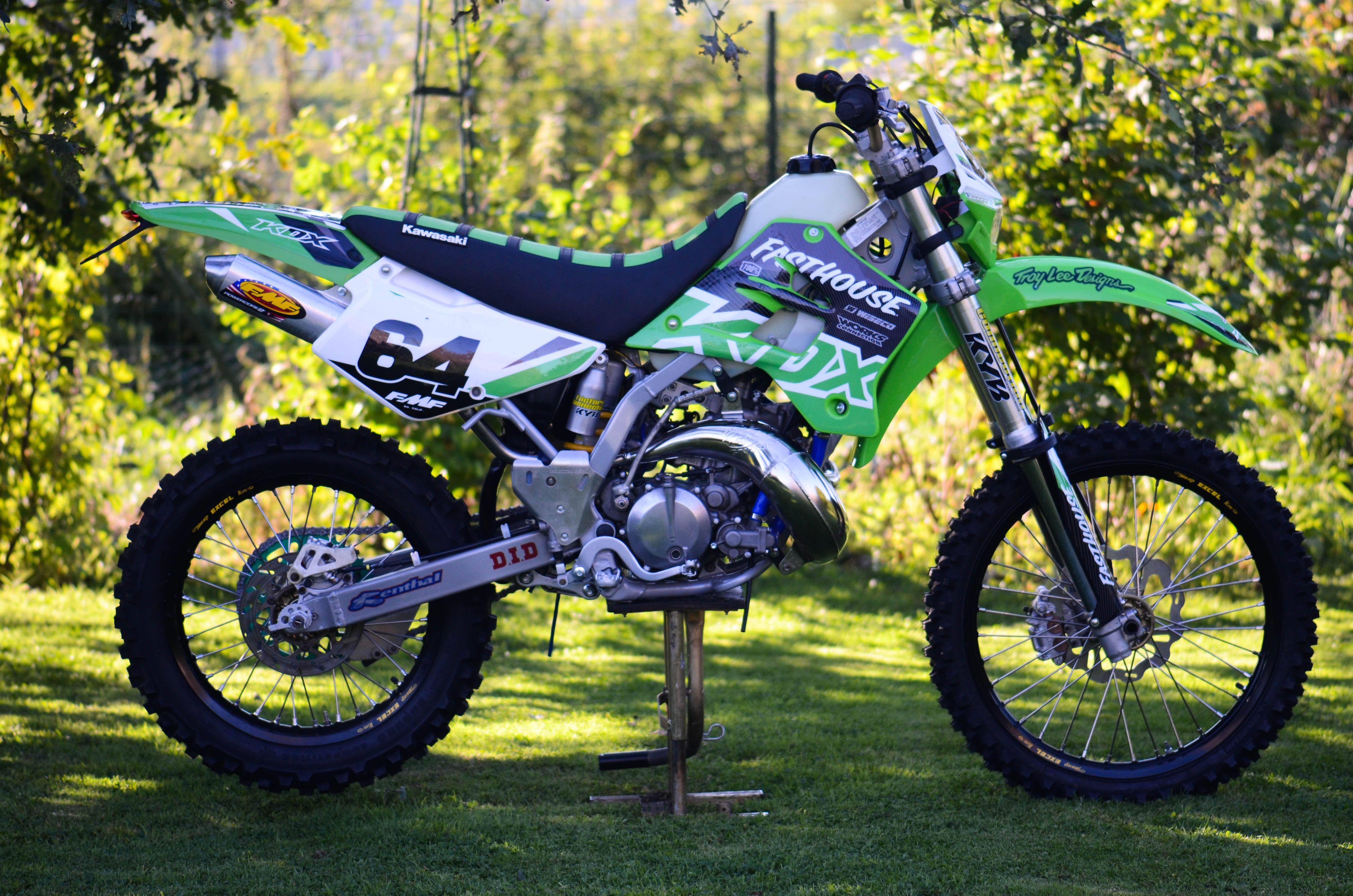 96 Kawasaki Kdx200 Rebuild Cedric Simon Derestricted
