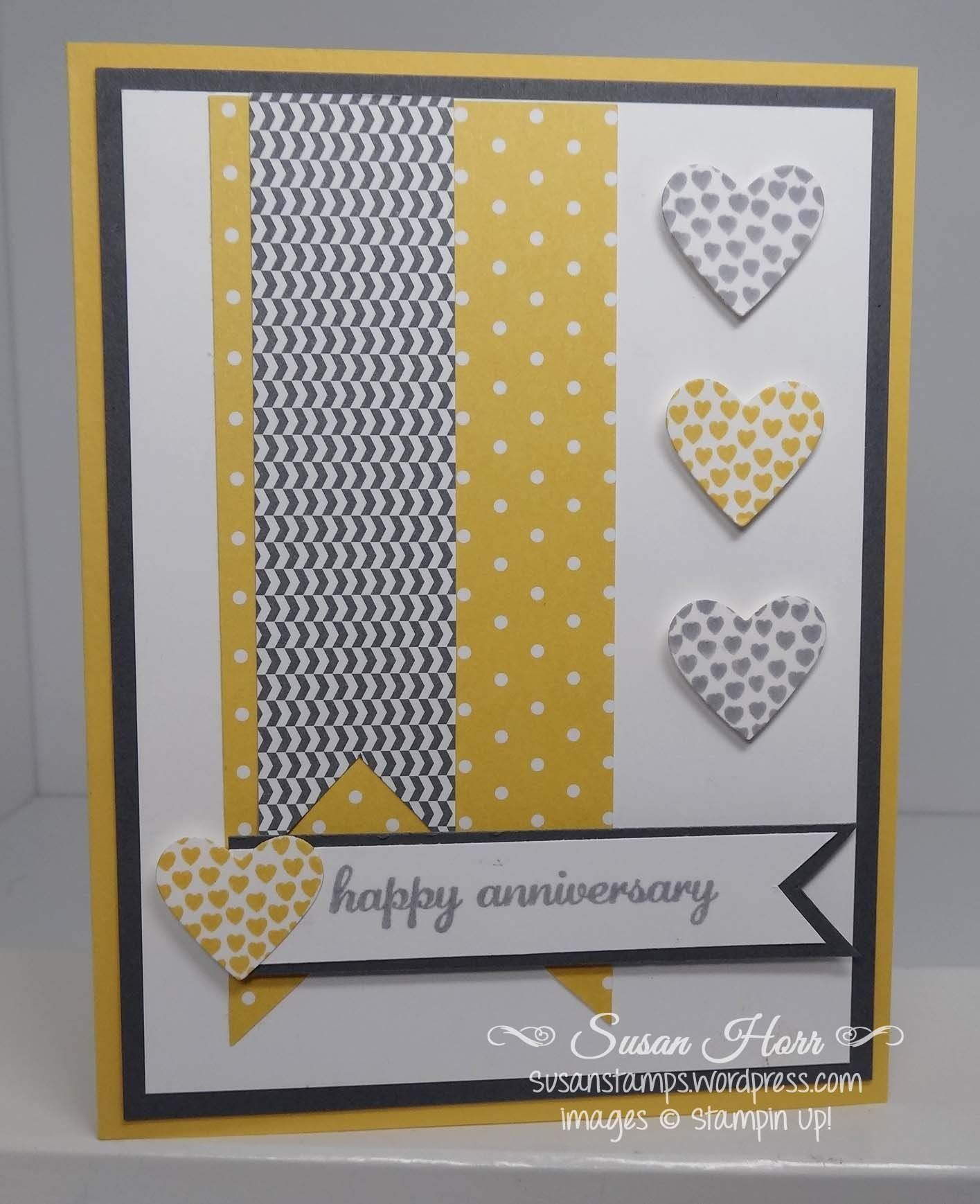 Hearts A Flutter Suo Stampin Up Susanstamps Com Card