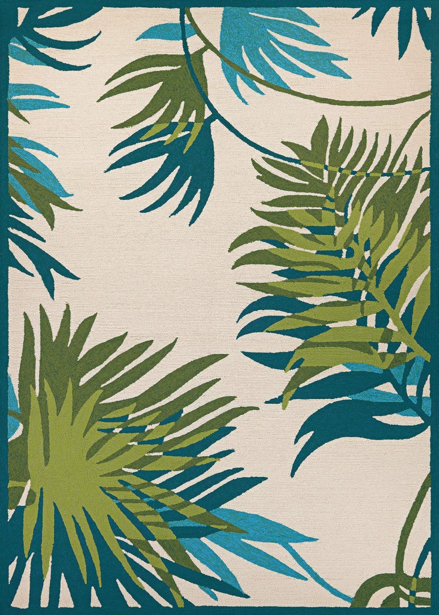 Covington Jungle Leaves Outdoor Rug Products In 2019