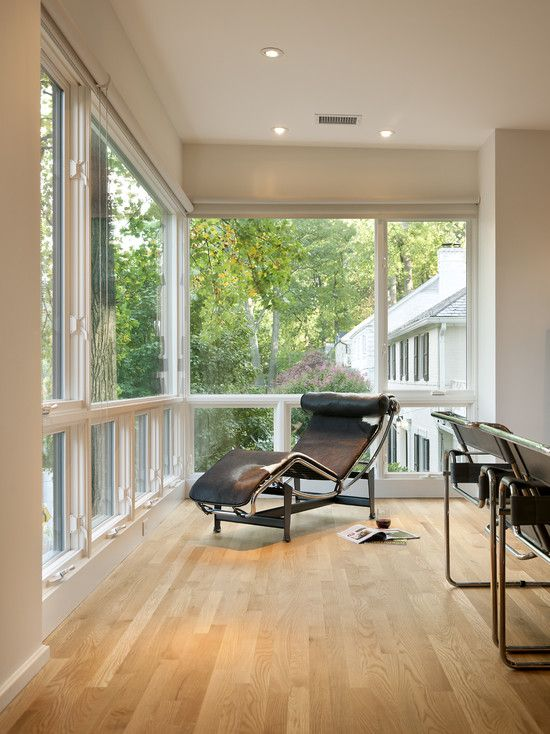 Lazy Boy Design A Room: Stunning House Remodel Among Trees: Fabulous Family Room