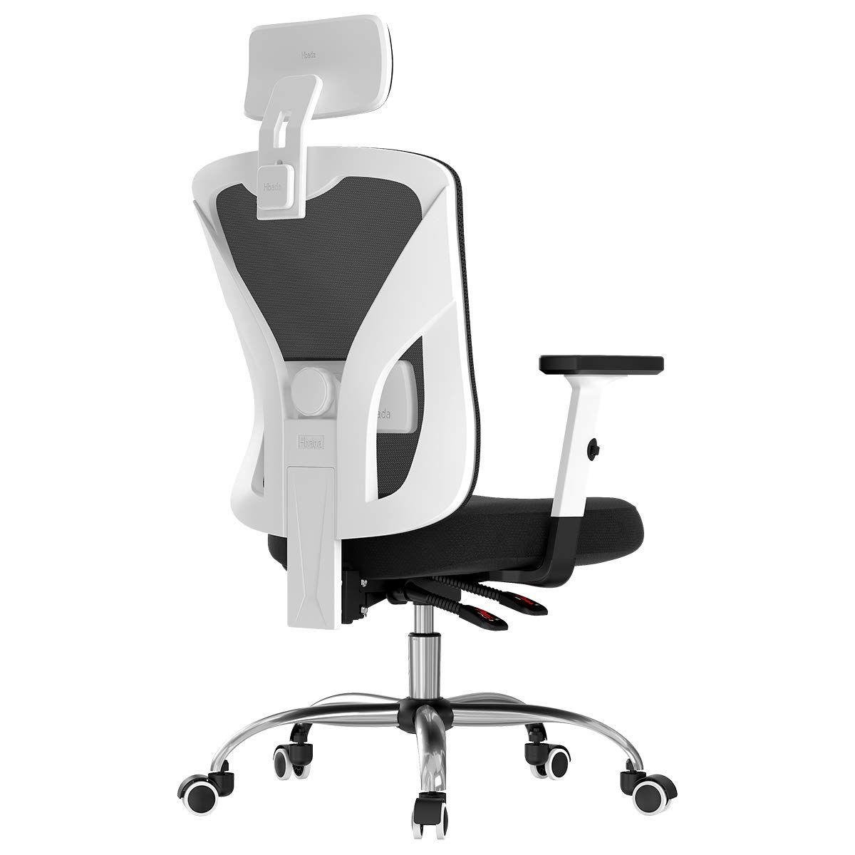 Hbada Ergonomic Office Desk Chair With Adjustable Armrest Lumbar