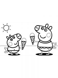 printable peppa pig coloring pages for kids  free