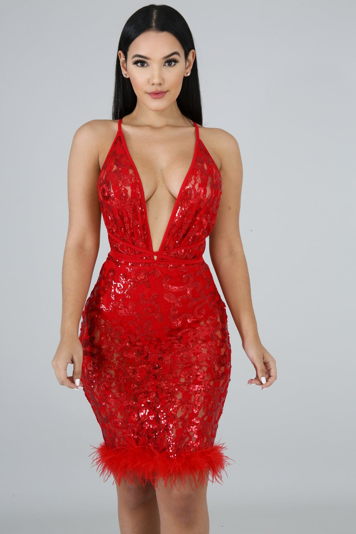 23+ Red birthday dress ideas