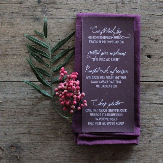 Earthy Wedding Invitations: Earthy Wood And Floral Wedding Invitation From Akimbo