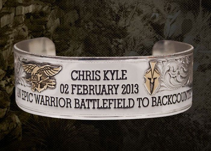 Kryptek Chris Kyle Memorial Bracelets