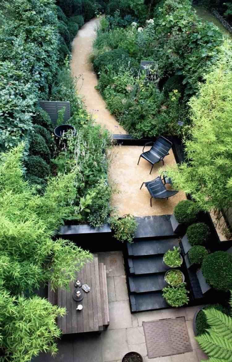Terrasse de jardin moderne - planification et conception | Nature ...