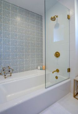Shower door swings completely open | Bathroom Ideas in 2018 | Pinterest