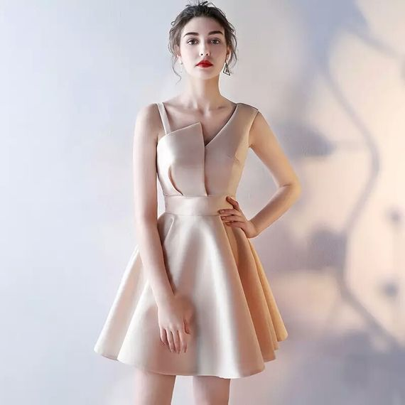 Banquet evening dress 2017 summer new noble and elegant student birthday  party dinner small dress dress