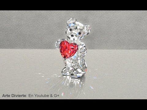Cmo dibujar un osito de cristal Swarovski  El mejor regalo para