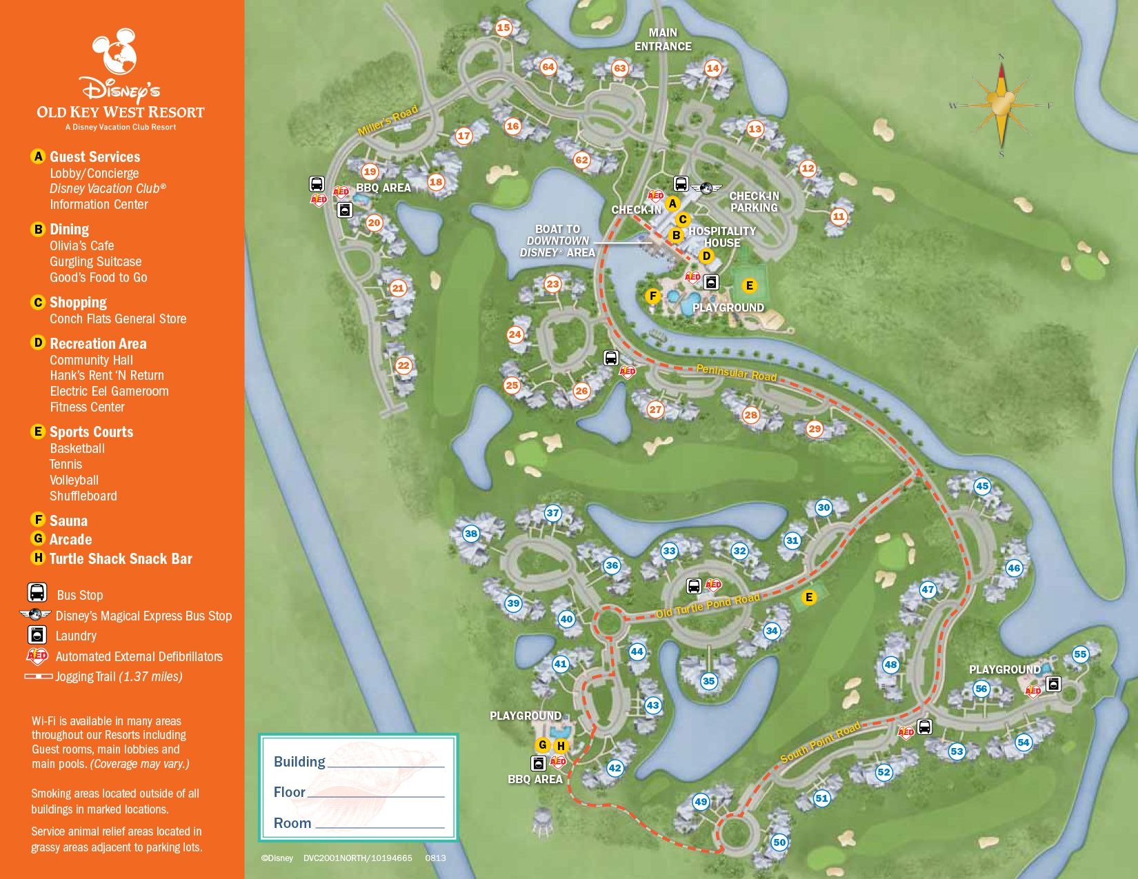 Old Key West Resort Map | Disney World Maps | Pinterest | Key west ...