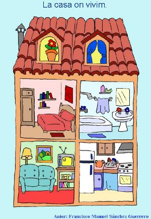 Jclic la casa on vivim   Medi   Pinterest   Spanish