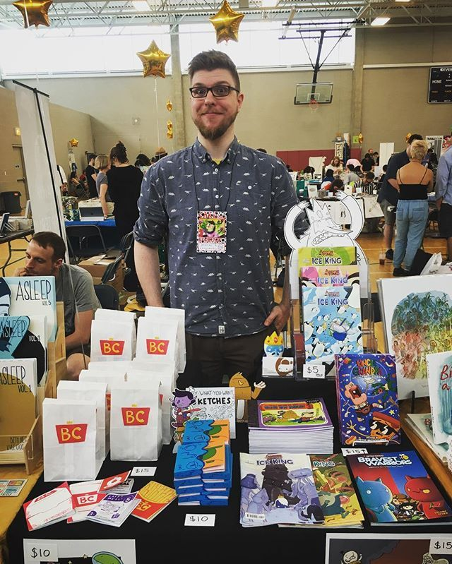 Ready for day one of @cakechicago! Table 34a. Also helping to run a workshop at 11:30 with @alexnall0 so come to that!