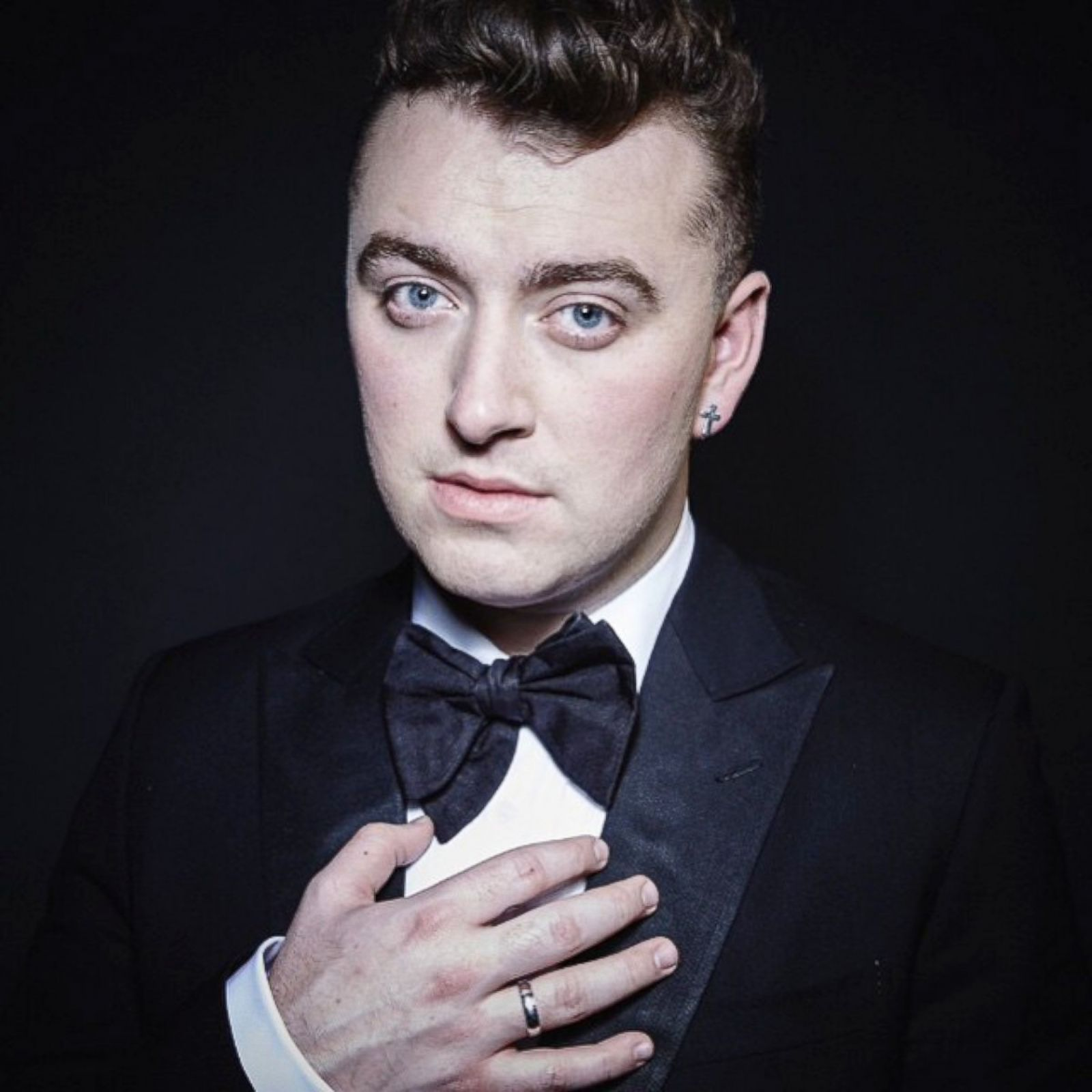 """Winner Fashion Journalist Of The Year: Sam Smith: All Curves And Softness Even At 6'2"""""""