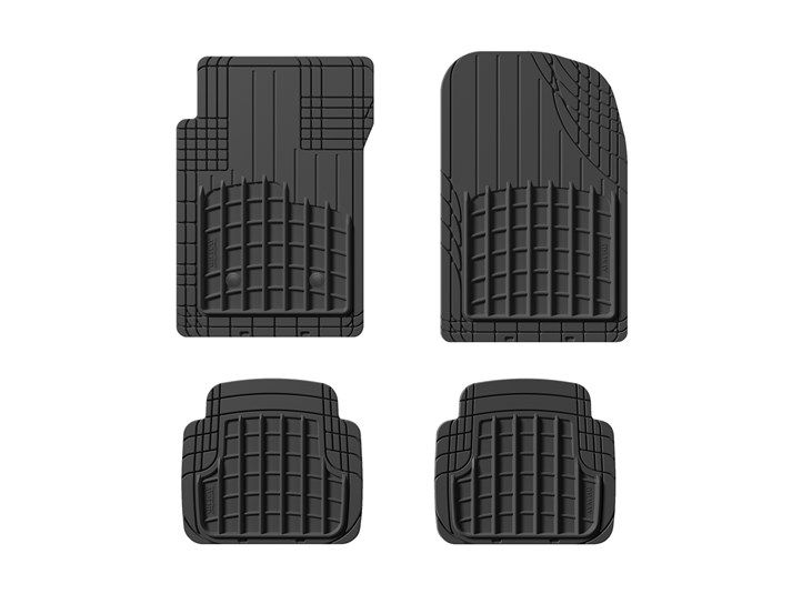 Smartliner Floor Mats 3 Row Liner Set Black For 2015 2018 Chevrolet Suburban Gmc Yukon Xl With 2nd Row Bucket S Chevrolet Suburban Bucket Seats Gmc Yukon Xl