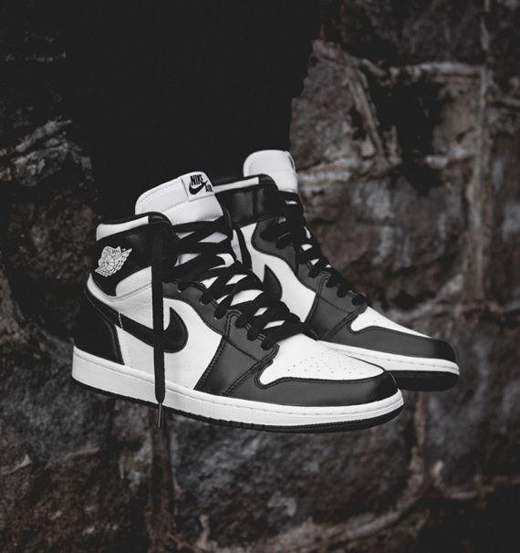 Air Jordan 1 Retro High OG - Black/White | Schoenen, Kleding