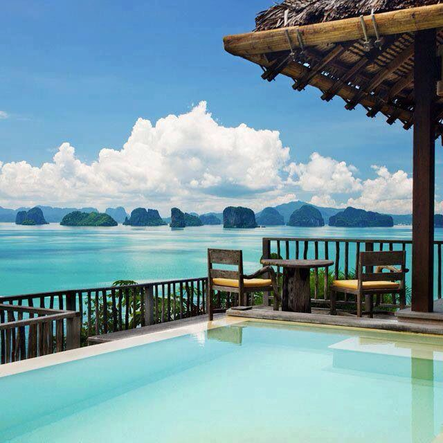 Beautiful view in Thailand