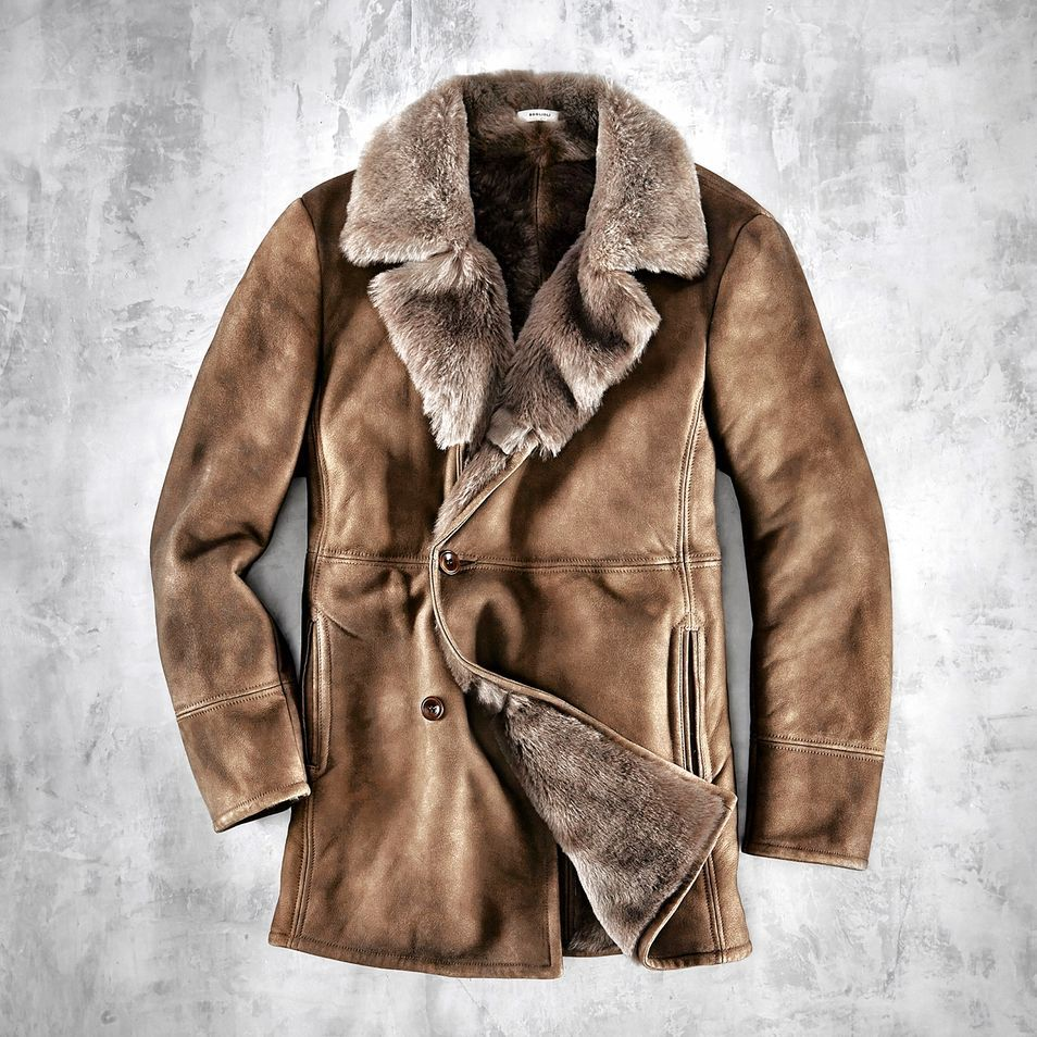 Why Men Should Invest in Shearling This Fall | Men street, Men's ...