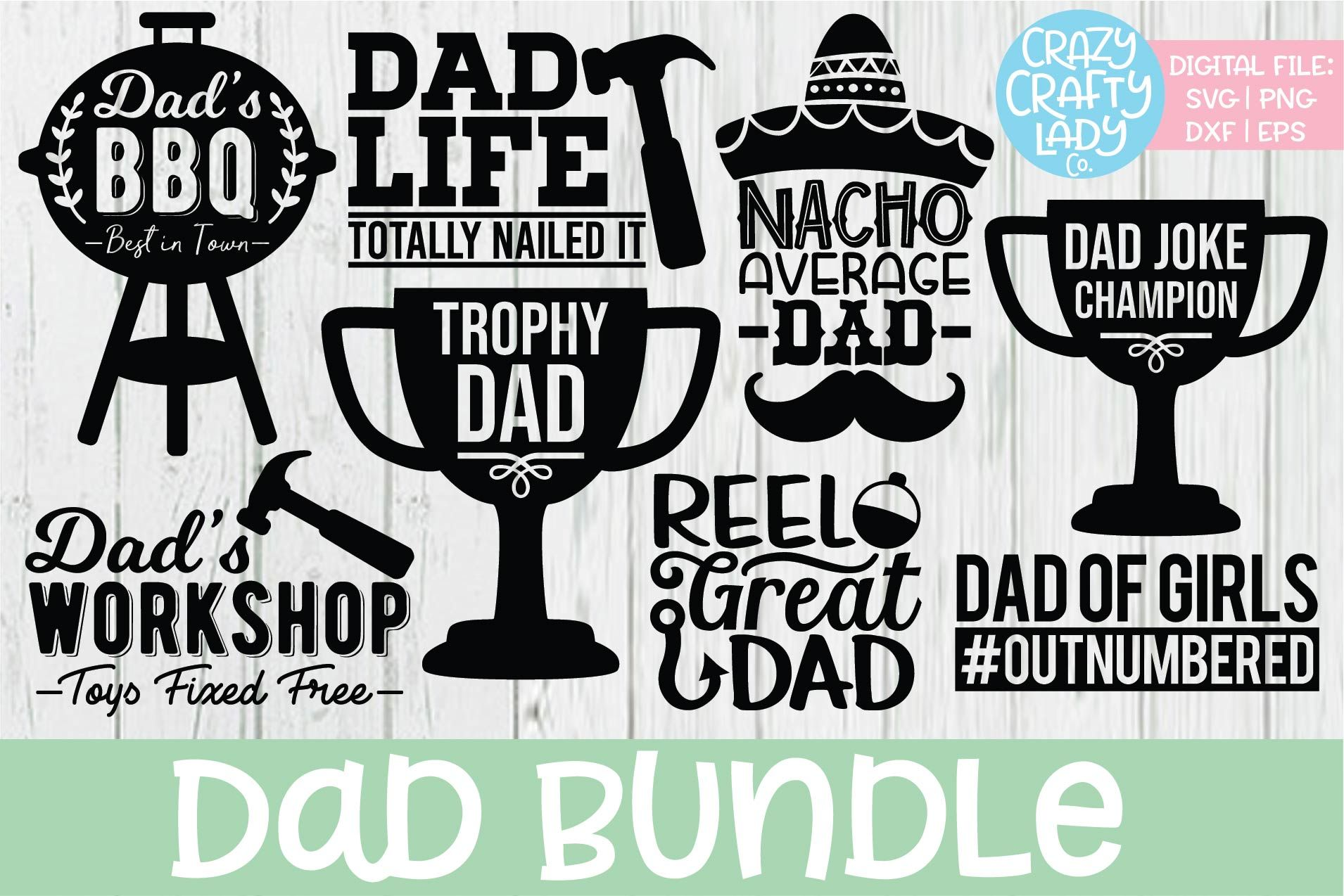 Daddy Svg Wild About Daddy Cutting File Svg Download. Cut Files For Silhouette Studio Cricut Svg- Dxf- Fcm- Png