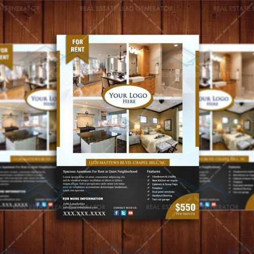 For Rent Real Apartment Listing Design Template  Real Estate