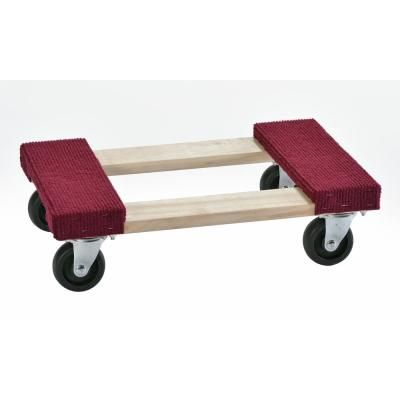 Muscle Carts 1000 Lb Capacity Wood Furniture Dolly Swmd Red Furniture Dolly Wood Furniture Wood