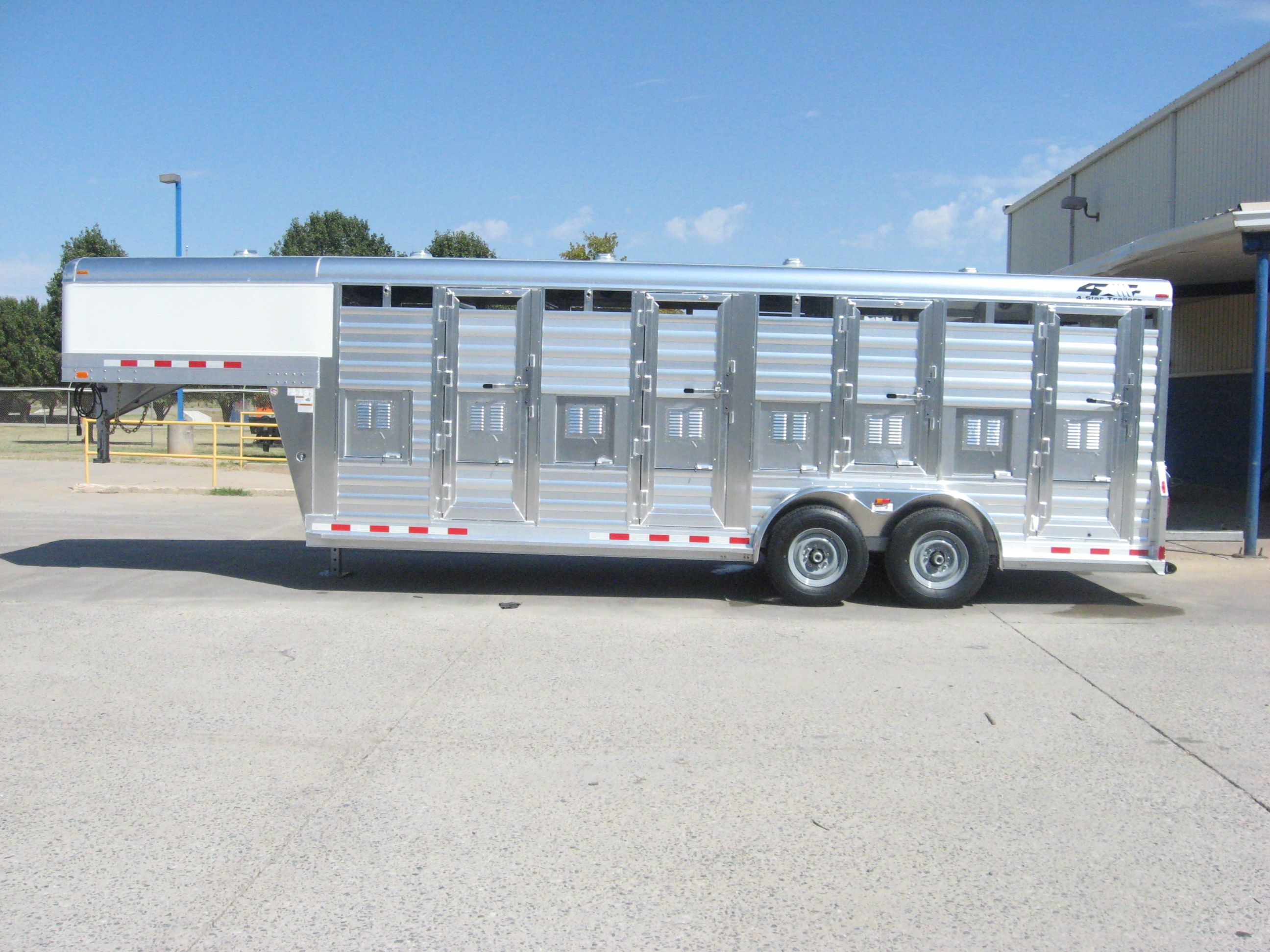 4 Star 7 X 21 6 Stock Gn Deer Trailer Star Trailer Aluminum