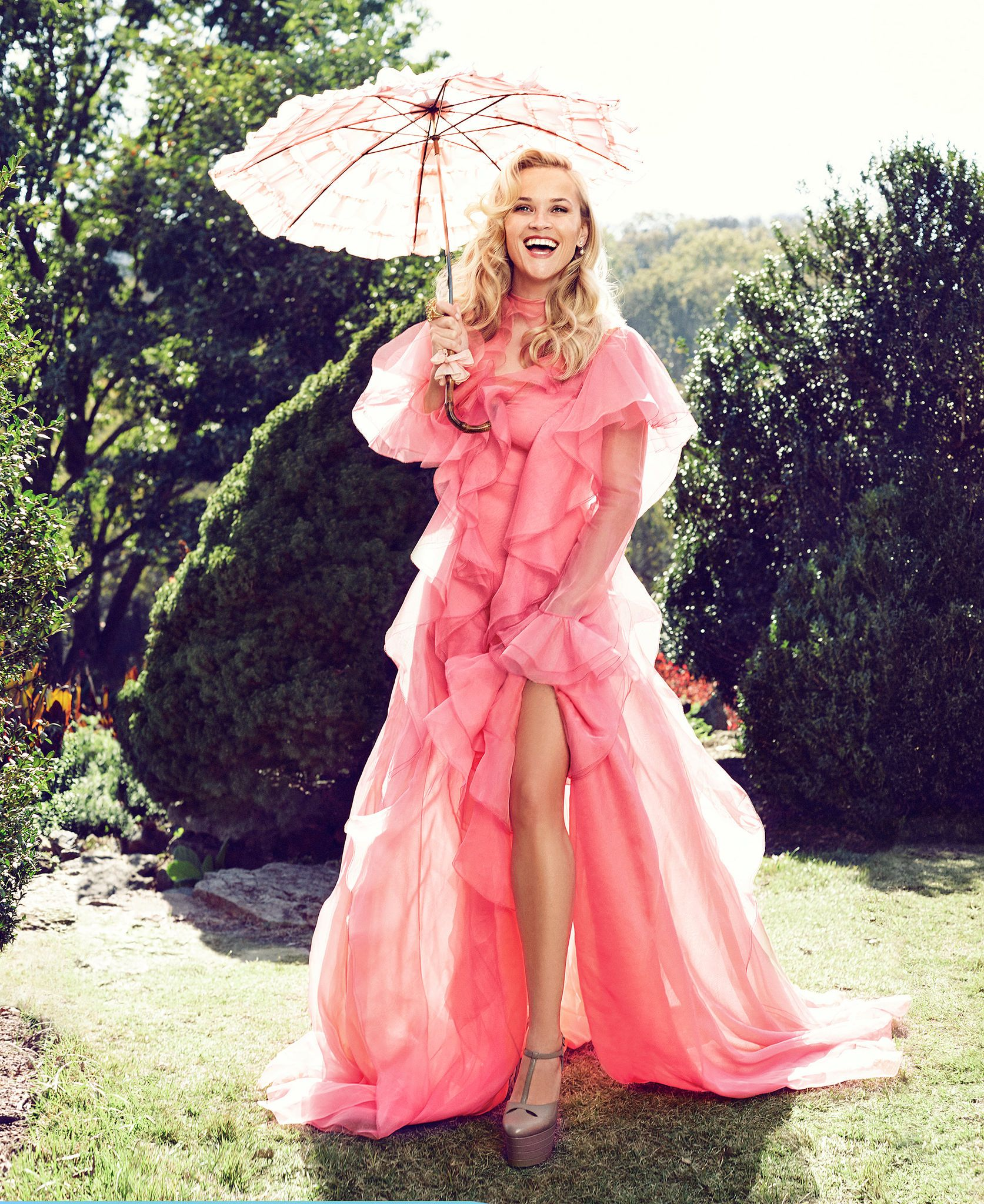 """Reese Witherspoon for Harper\'s Bazaar: """"I\'m much more open now. In ..."""