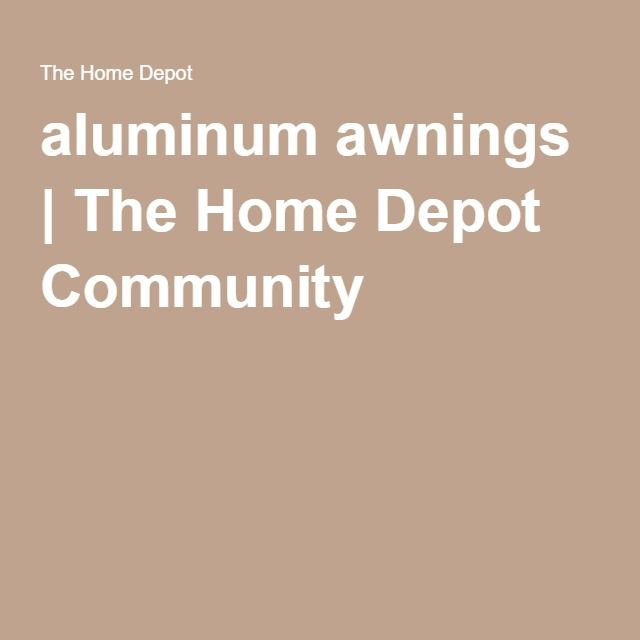 how to paint aluminum awnings, and how to get paint chalk ...