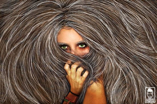 Hair Hide by Alejandro Pinpon.