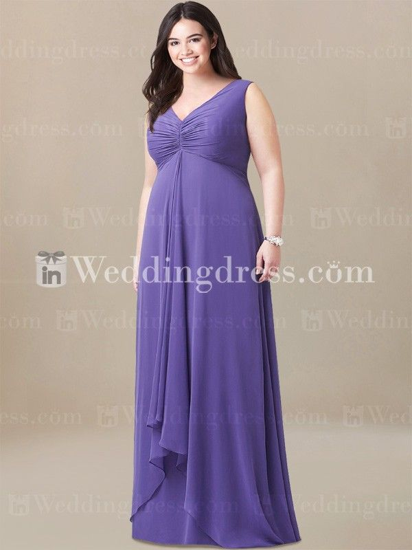 Elegant Plus Size Mother of the Bride Dress MO288