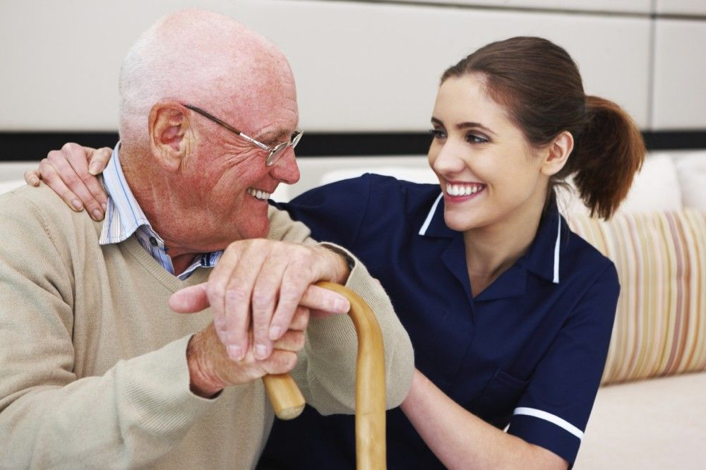 Working in the aged care industry is considered to be a
