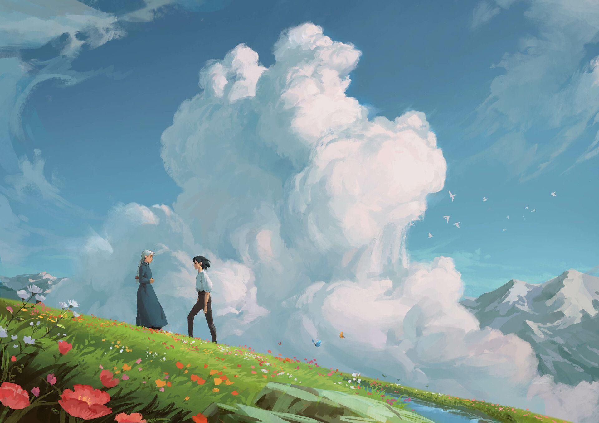Https Initiate Alphacoders Com Download Wallpaper 1053126 Images8 Jpg 1586048650988832 In 2020 Ghibli Artwork Studio Ghibli Background Anime Scenery