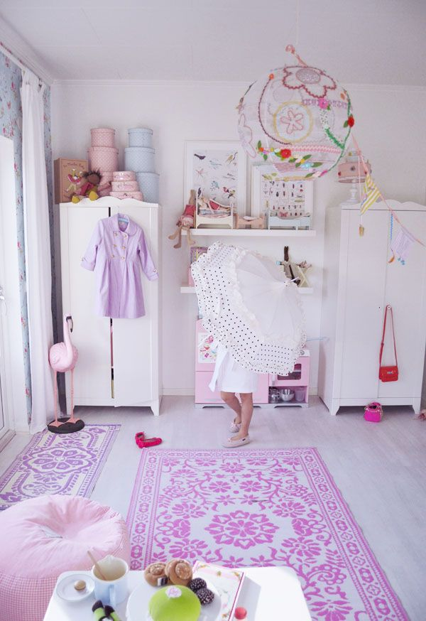 purple bohemian children's bedroom with purple color 20 ...