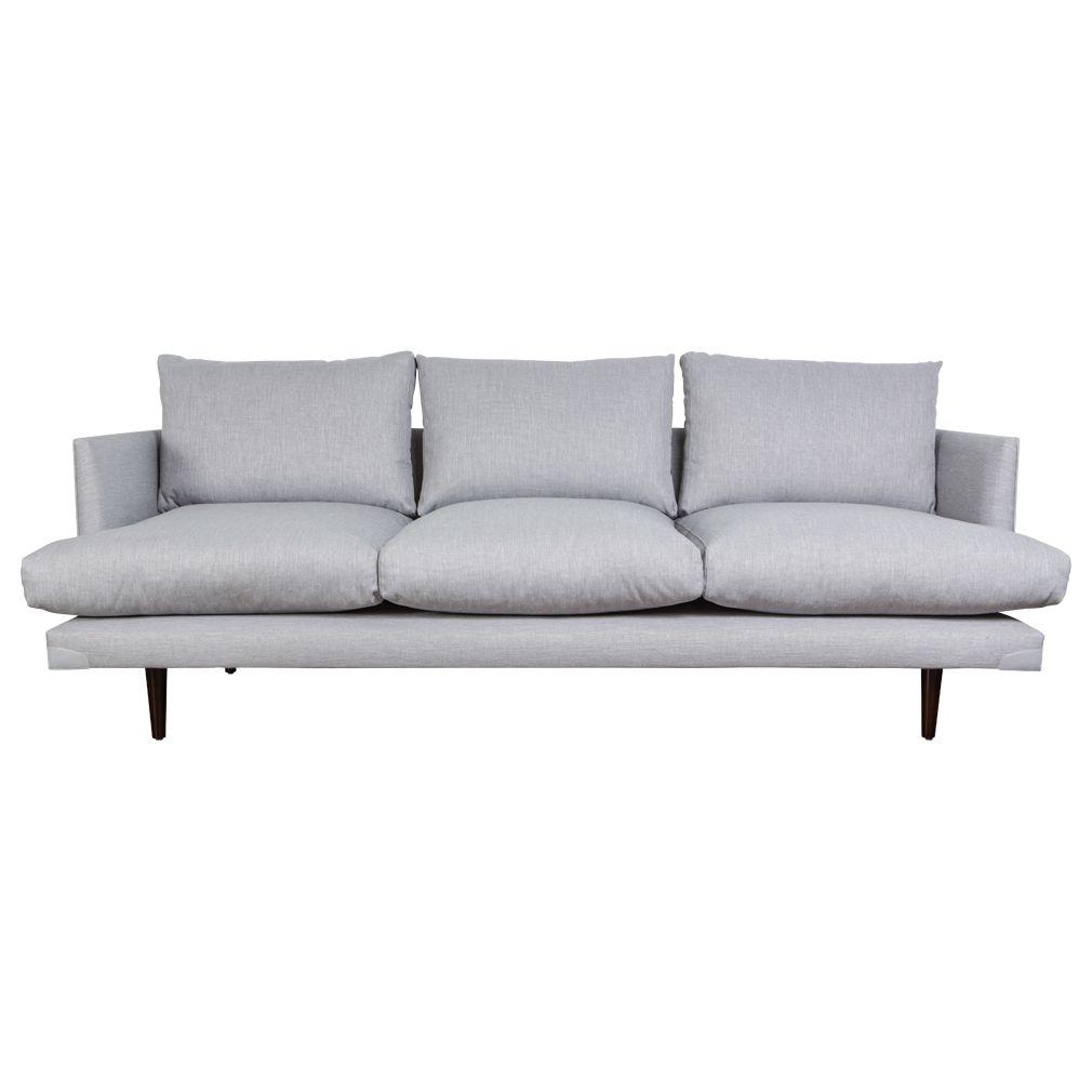 Cairns 3 Seater Sofa Made In Australia Grey Matt Blatt Sofa 3 Seater Sofa Retro Sofa