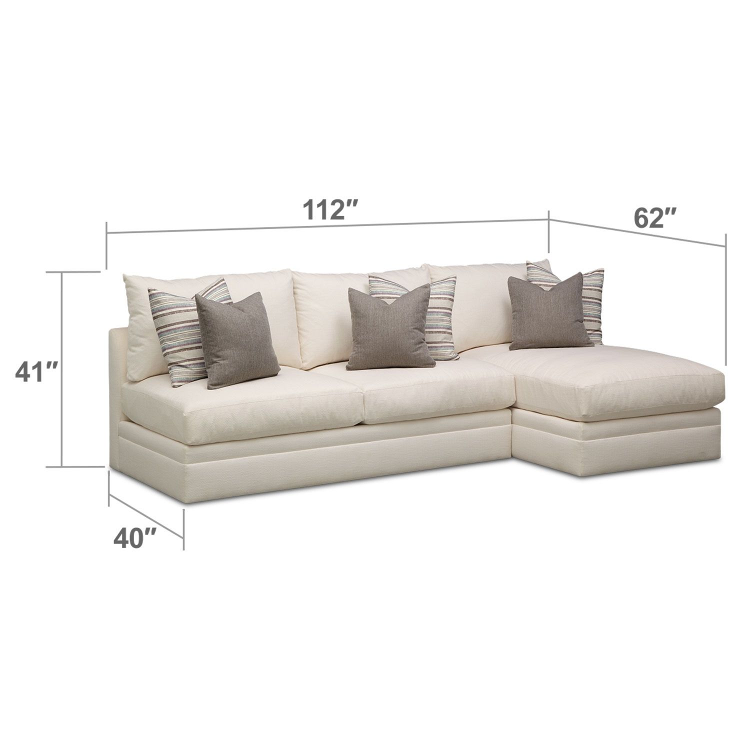 $1 700 Granada 2 Pc Sectional Value City Furniture