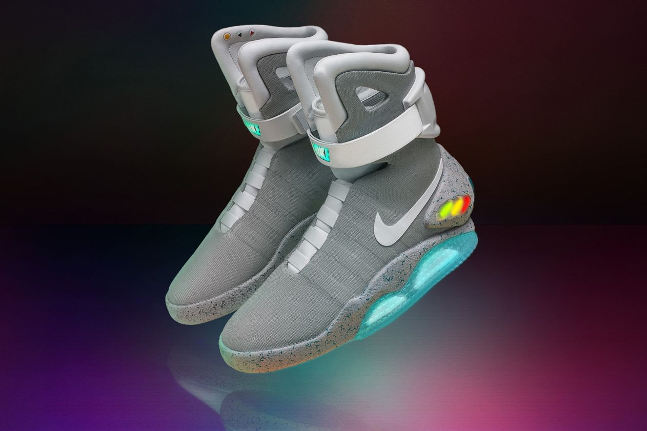 NIKE mag: 'back to the future' shoes