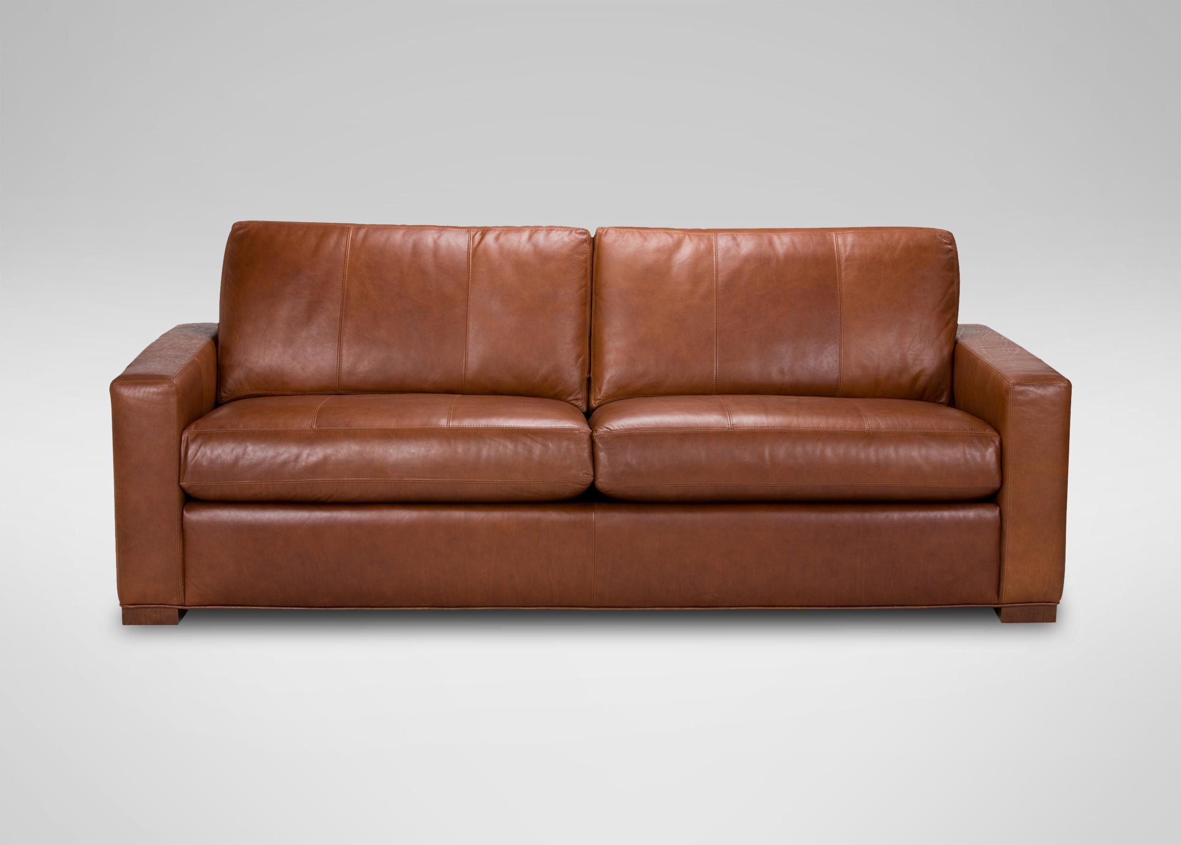 Hudson Leather Sofas And Loveseat Ethan Allen Favorite