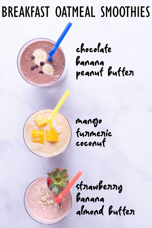 Strawberry Oatmeal Breakfast Smoothie Glitter And Bubbles Recipe Oatmeal Bars Recipes Strawberry Oatmeal Strawberry Oatmeal Smoothie