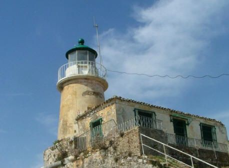 Sidero Lighthouse Corfu Island