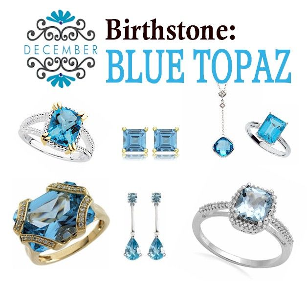 Pin By Lori Franklin On My Style Jewels Blue Topaz Birthstones