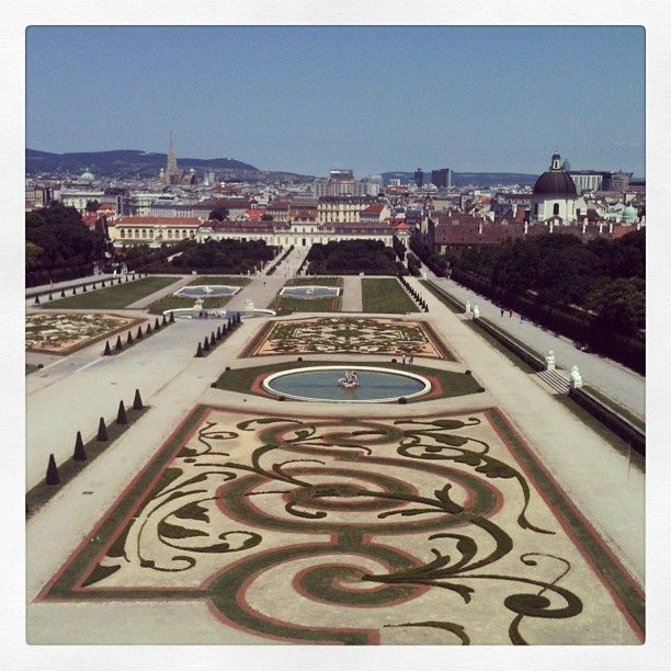 The gardens are lovely, and inside the palace you can see Klimt's famous painting, The Kiss.