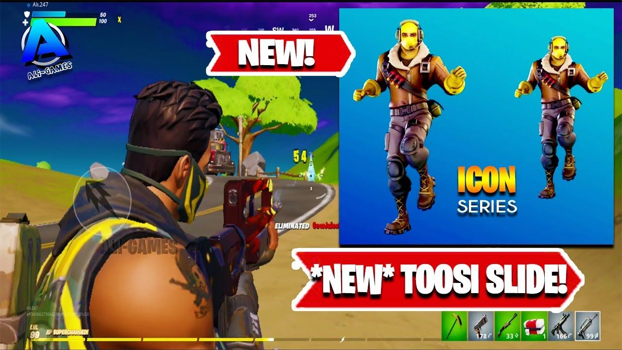 Best Solo Squad Kills Chapter 2 Fortnite New Icon Series Toosie Sli In 2020 Fortnite Comic Book Cover Chapter