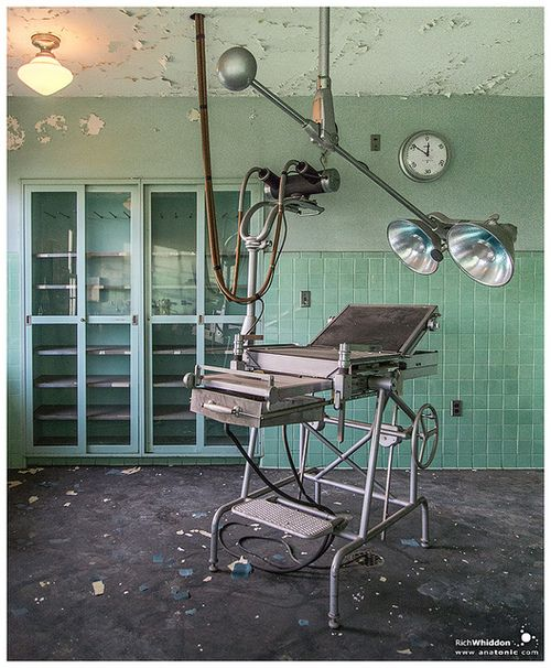 Operating Room no1 - X-ray table  on Flickr  State Hospital