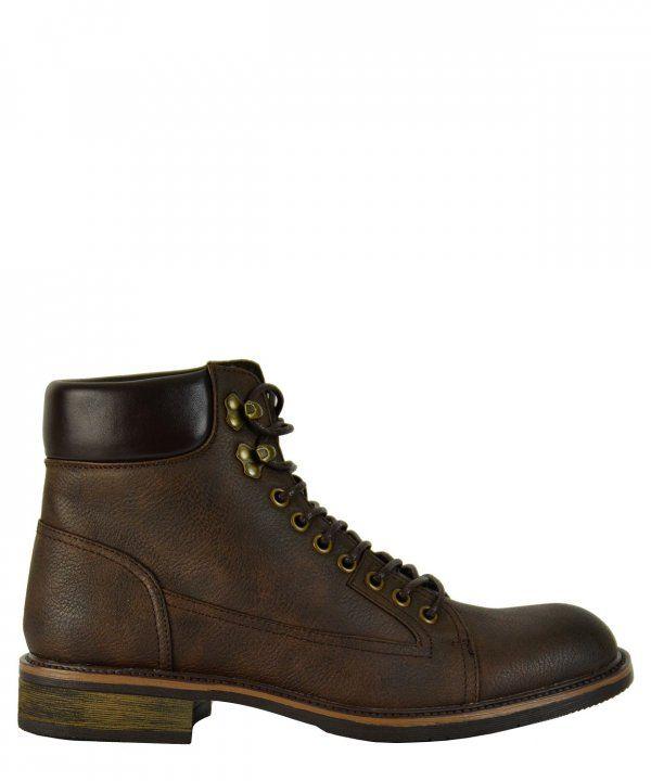 a7b2273be85 Ανδρικά αρβυλάκια Biker καφέ EL0568F #ανδρικάμποτάκια #μοδάτα #ρούχα  #παπούτσια #στυλ #φθηνά #μοντέρνα