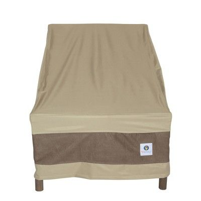 36 W Elegant Patio Chair Cover Coffee Classic Accessories Brown