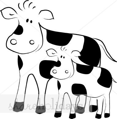 Momma Cow Clipart | Cows | Pinterest | Art, Cow and Art blog
