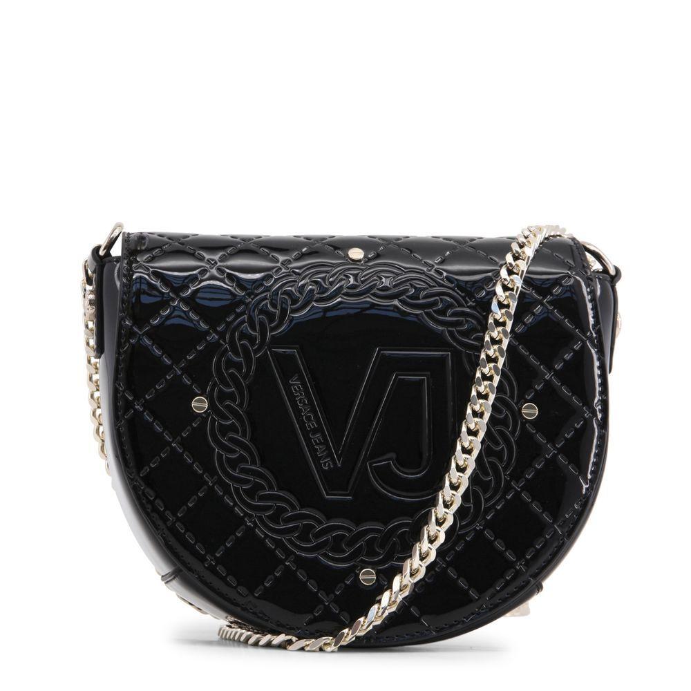 VERSACE JEANS E1VRBBM7 70045 BLACK CROSSBODY BAGS  d318e923a160a