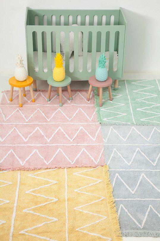 Hippy 120 X 160 Cm Kinderzimmer Teppich Madchen