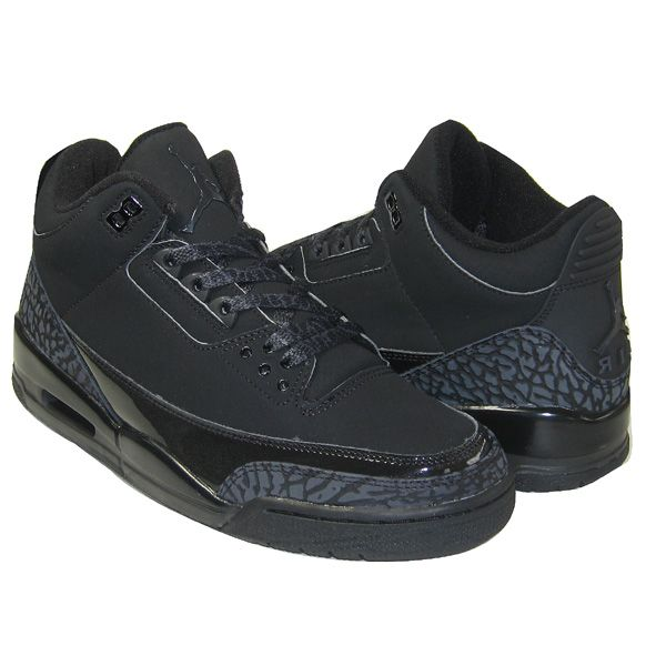 timeless design 100% authentic new york Air Jordan 3 Retro Black Cat | Air jordans, Black charcoal