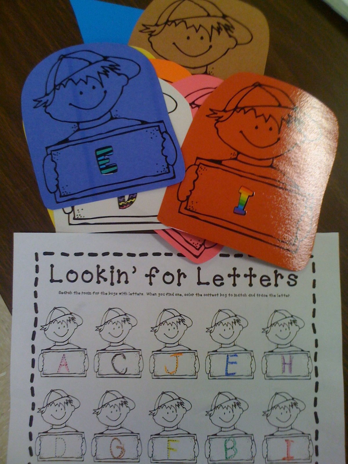 Read And Write The Room Letters And Numbers